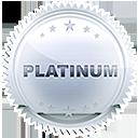 Platinum light white drk
